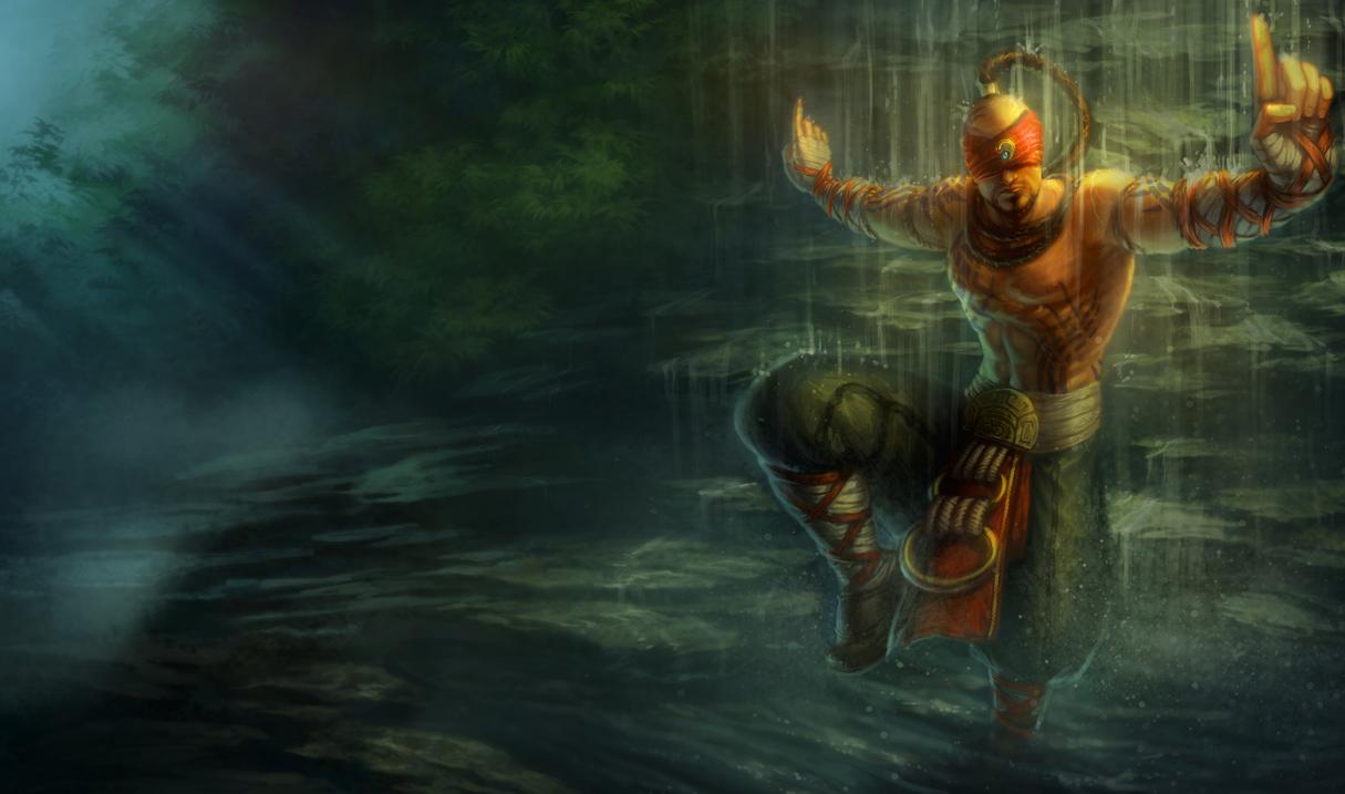 League Of Legends Wallpaper Lee Sin The Blind Monk