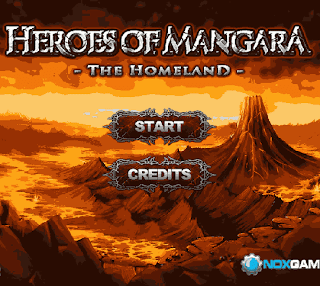 Flash-игра Heroes of Mangara