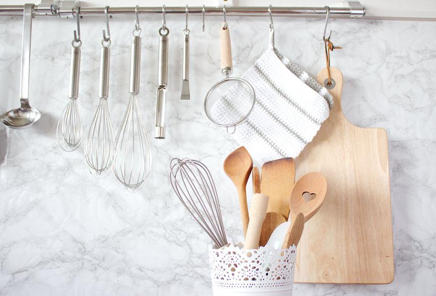 ars textura: Ein gemalter Spruch und Deko für die Küche
