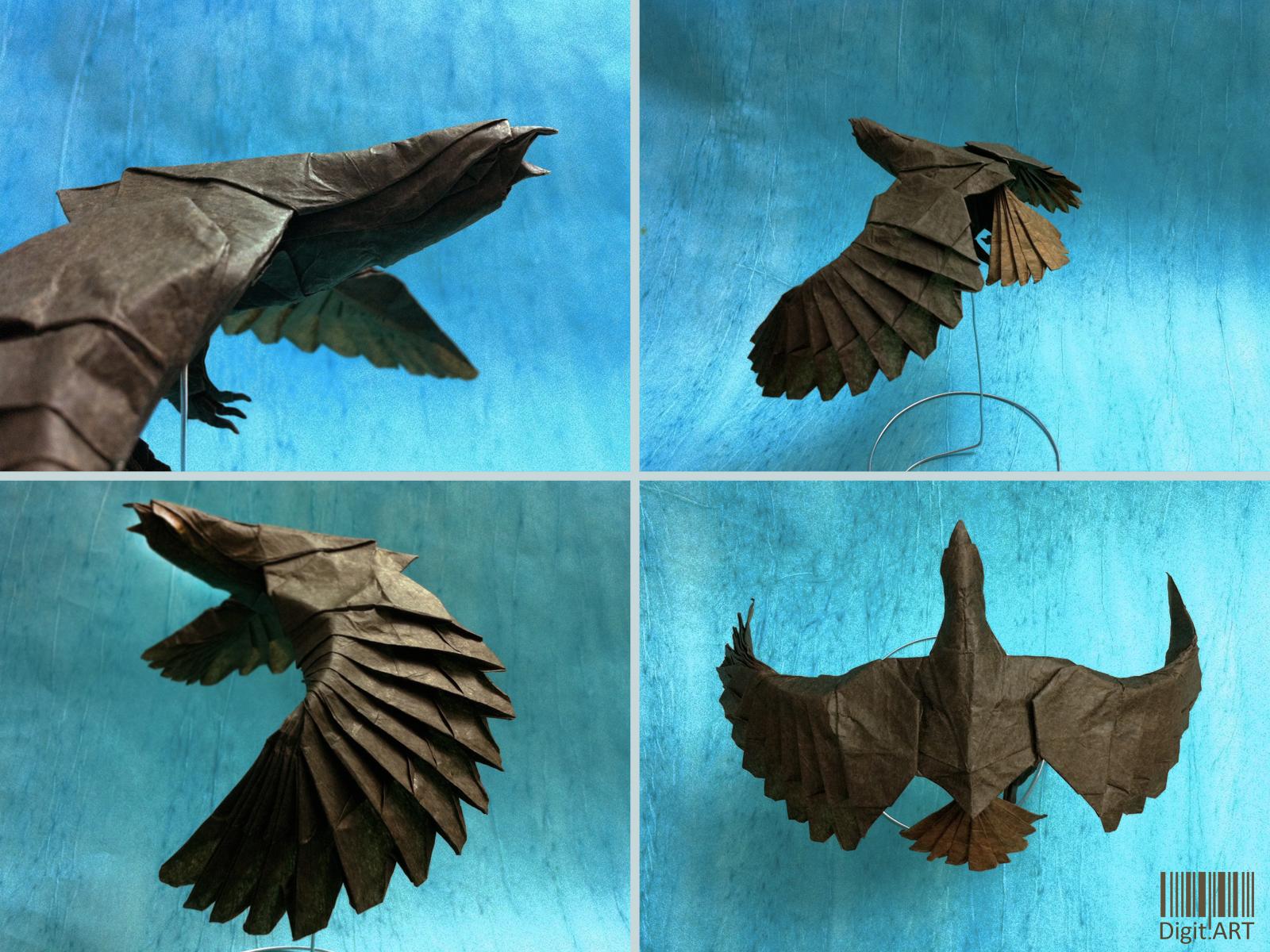 DigitARTs Blog Origami Eagle