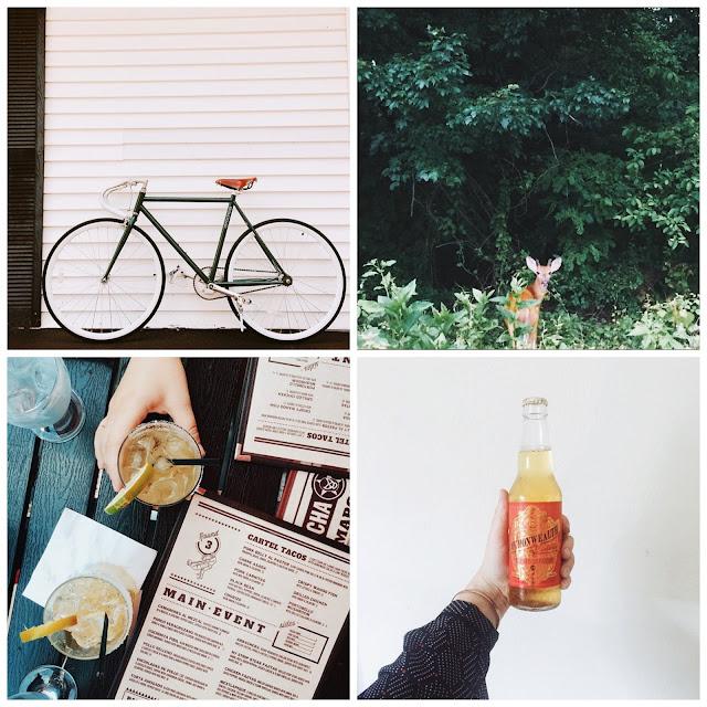fixie, deer, instagram, margaritas, gluten, free, beer,
