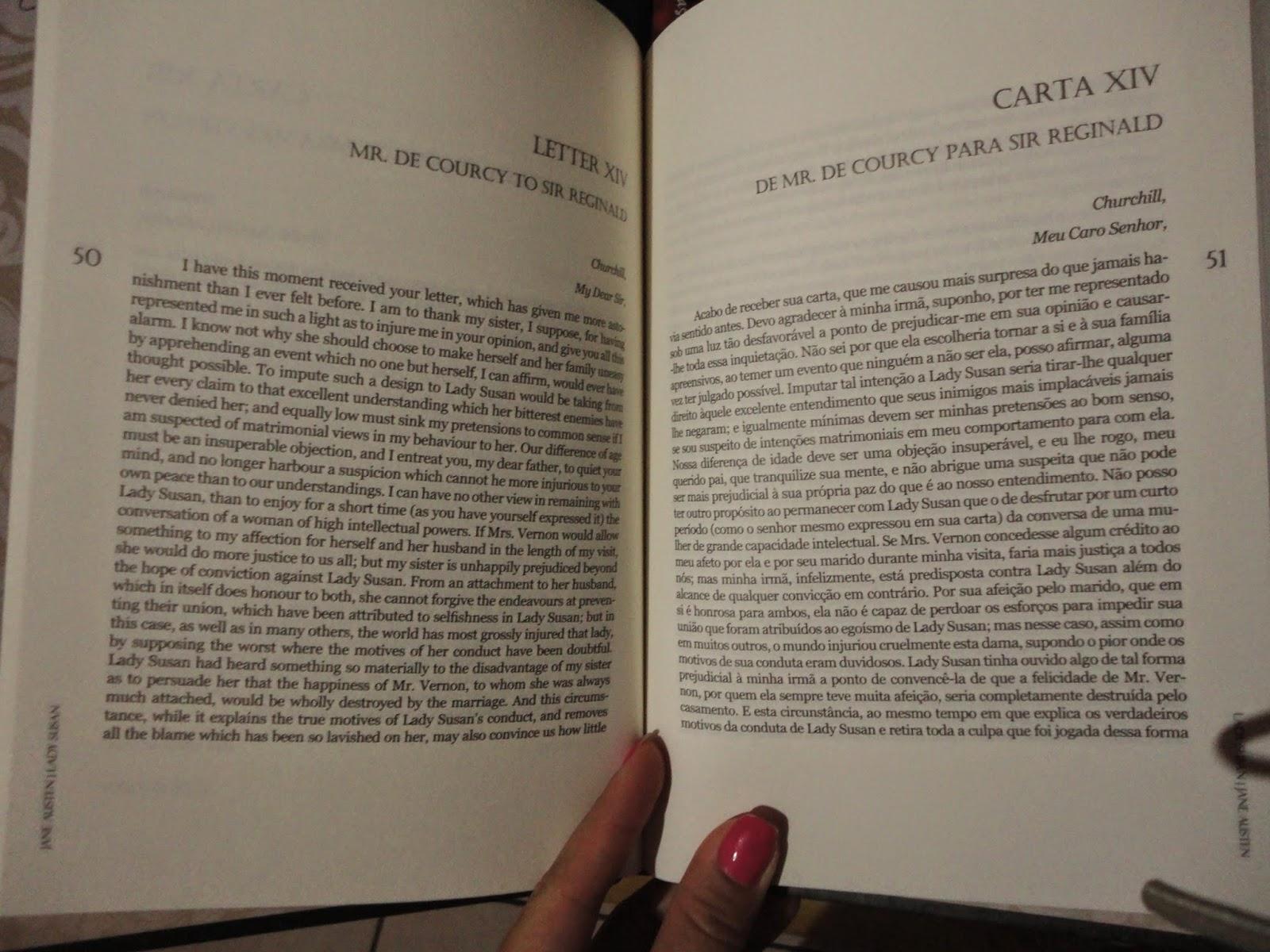 Confisses femininas na minha caixa de correio 135 do livro e depois a verso em portugus mas uma traduo pgina pgina uma pgina em ingls e uma com a traduo em portugus lado a lado fandeluxe Images