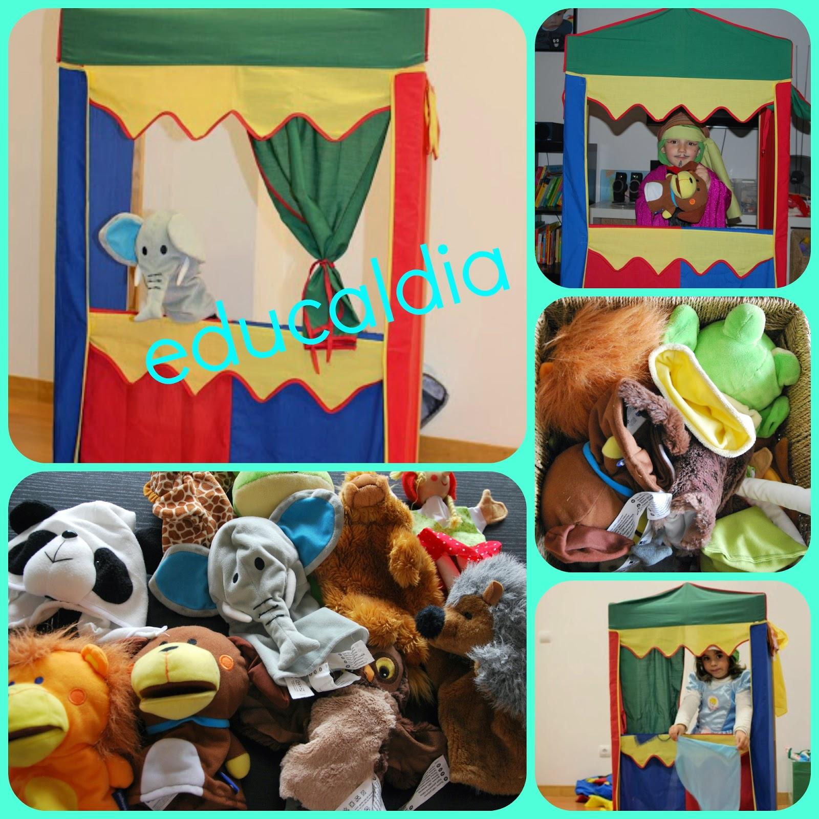 teatro infantil, actividad niños, educación en casa, homeschooling