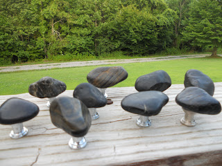 River Rock Designs has the Coolest Rock Cabinet Knobs and Pulls ...