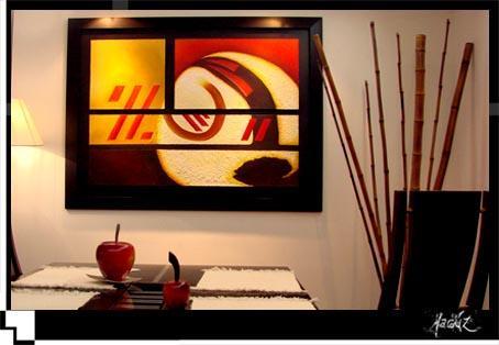 Venus interiorismo minimalismo - Cuadros abstractos minimalistas ...