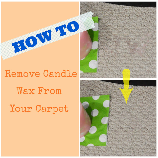 taste of august remove wax from carpet how to. Black Bedroom Furniture Sets. Home Design Ideas