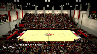 NBA 2K13 Summer League Las Vegas Arena Patch