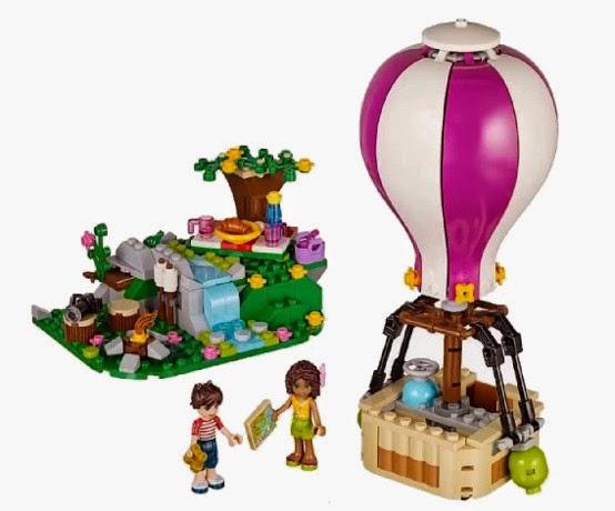 JUGUETES - LEGO Friends  41097 El Globo de Heartlake  Producto Oficial 2015 | Piezas: 254 | Edad: 6-12 años
