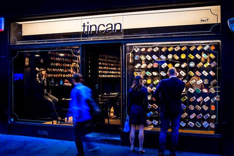 Tincan, un restaurante efímero de latas