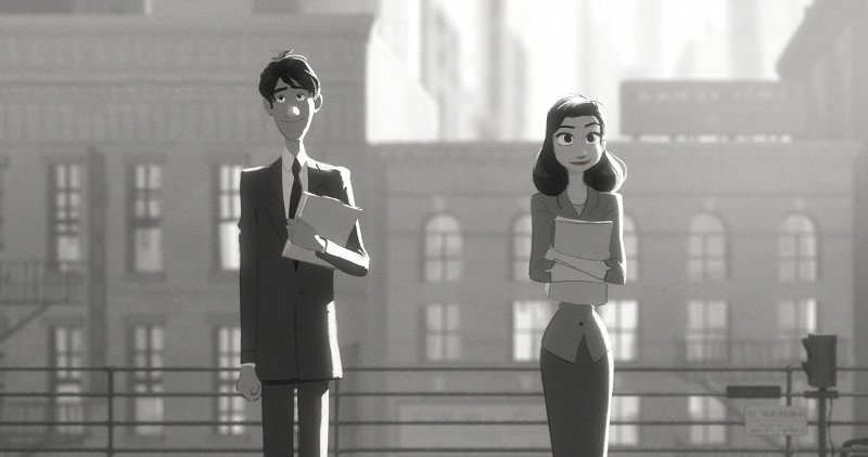 paperman met a girl