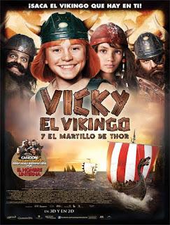 Ver Vicky El Vikingo y el martillo de Thor (2011) Online