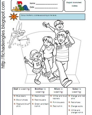 ingles 3 primaria: