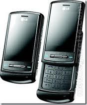LG U970 Shine stainless 3g phone
