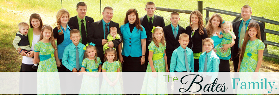 the bates family blog