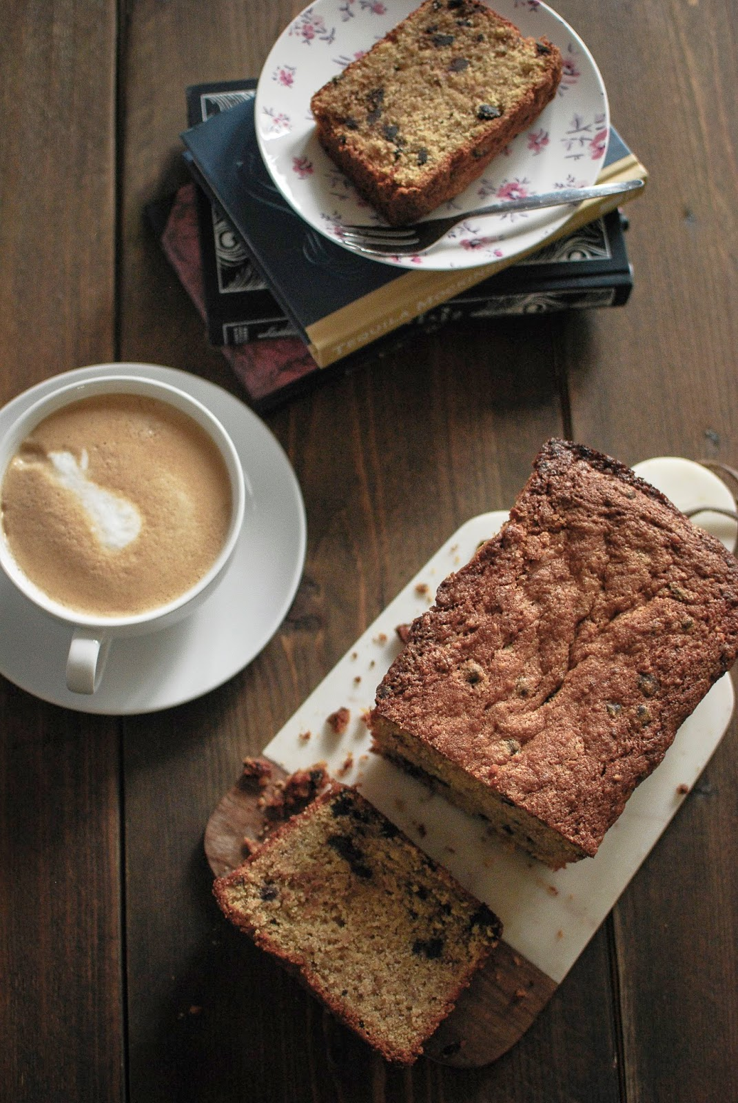 Hazelnut Banana Bread