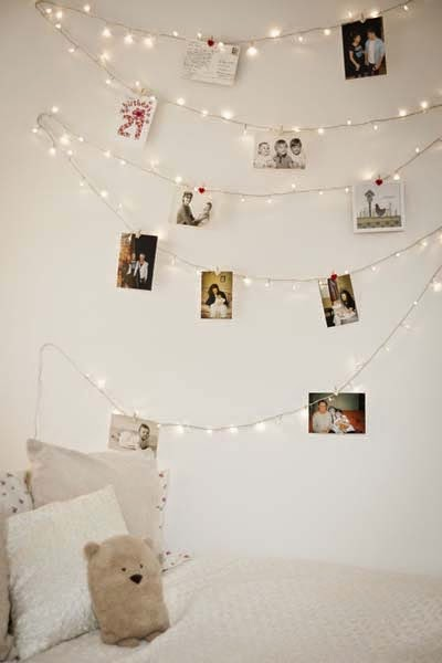 cheap bedroom decorating ideas photo gallery of lighted garlands - Bedroom Decorating Ideas Cheap