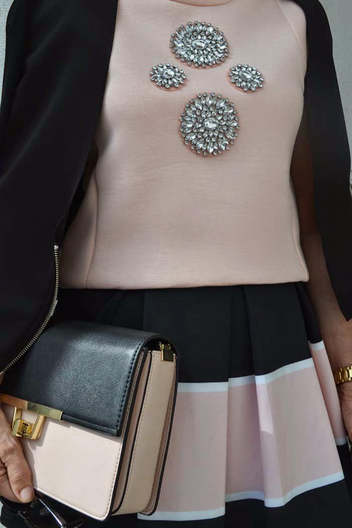 Rosa y negro cbf con buena facha - Color rosa empolvado ...
