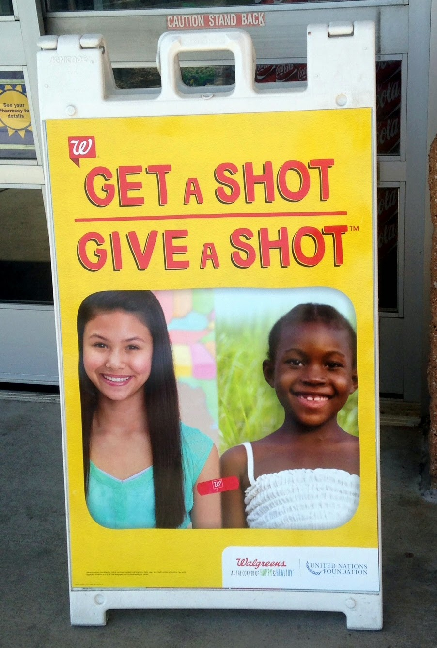 Walgreens Get A Shot Give A Shot #GiveAShot #CollectiveBias