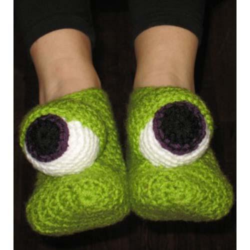 Miss Julias Patterns: Free Patterns - 50 Slippers & Socks ...