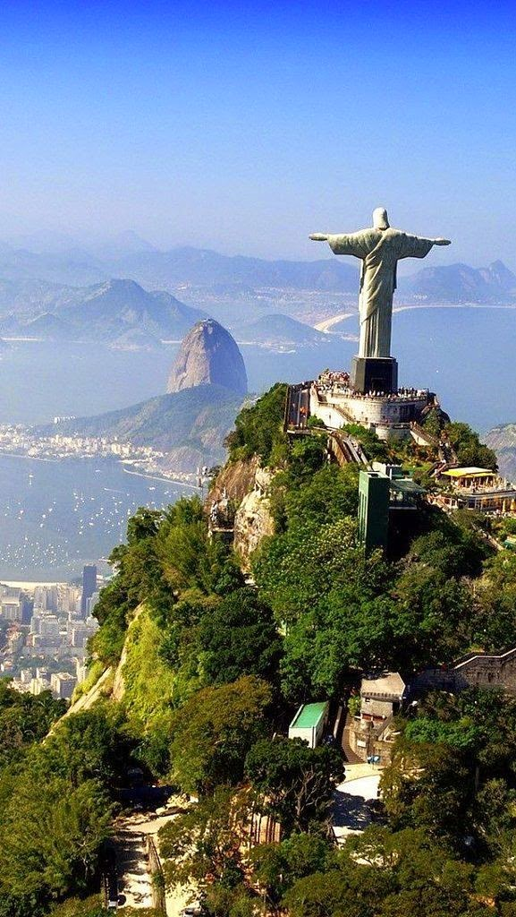"""rio and home to the last world cup - what a place!"""