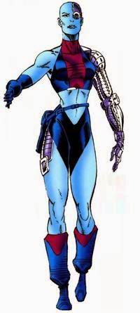 Guardians of the Galaxy's Nebula Marvel comics