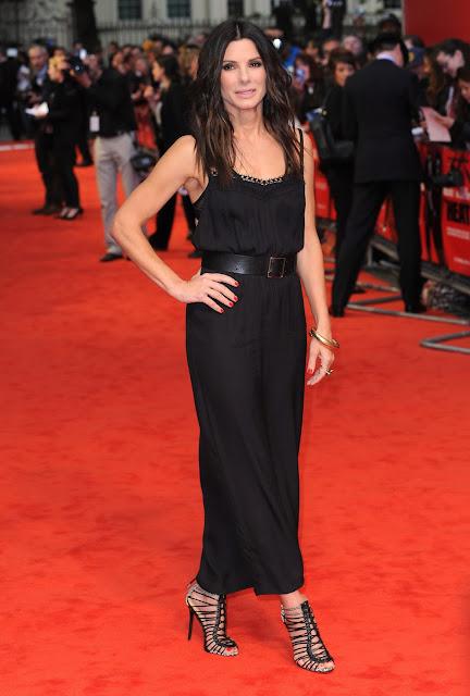 Sandra Bullock attends  THE HEART London Premiere