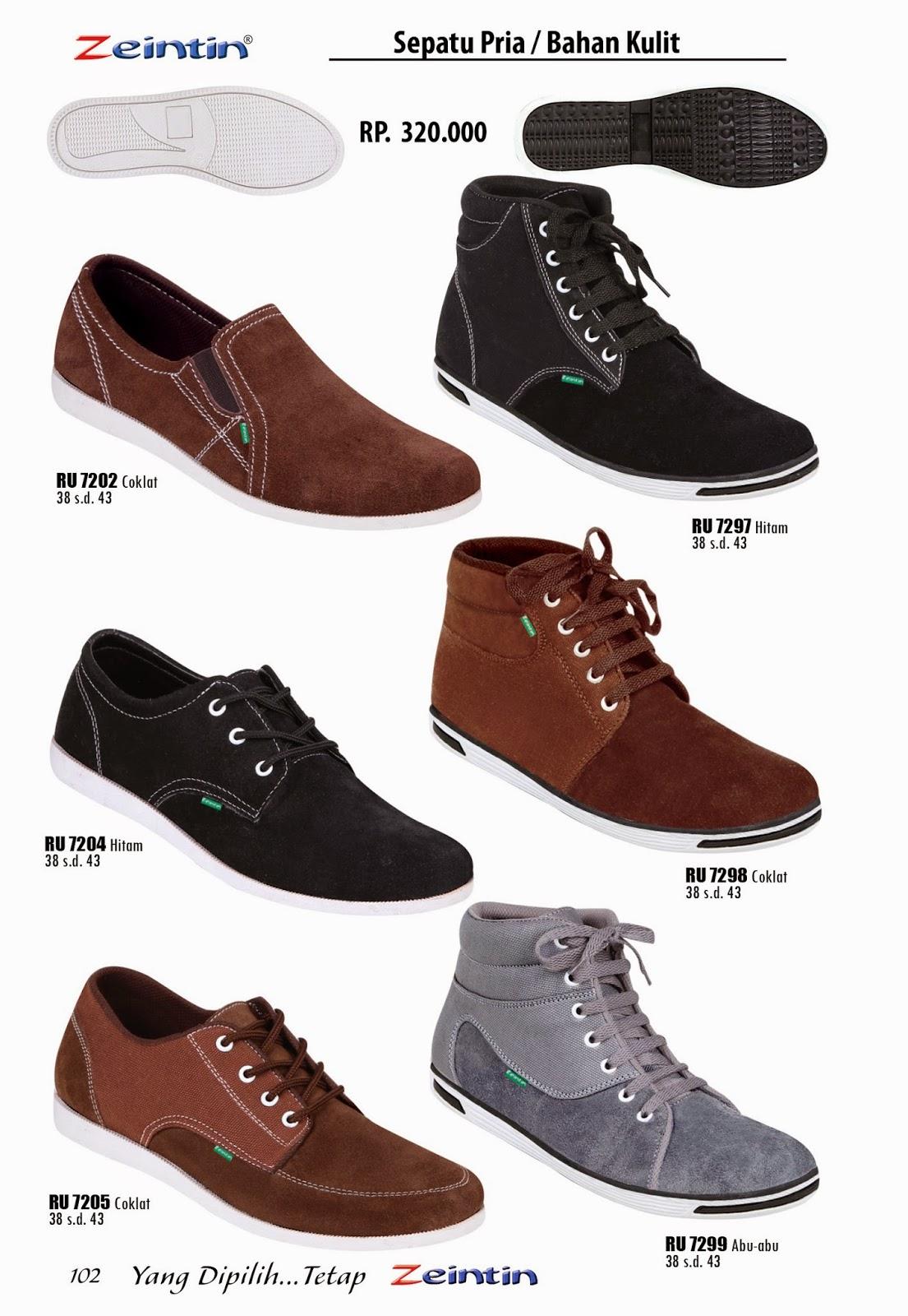 Sepatu Kulit Pria Zeintin