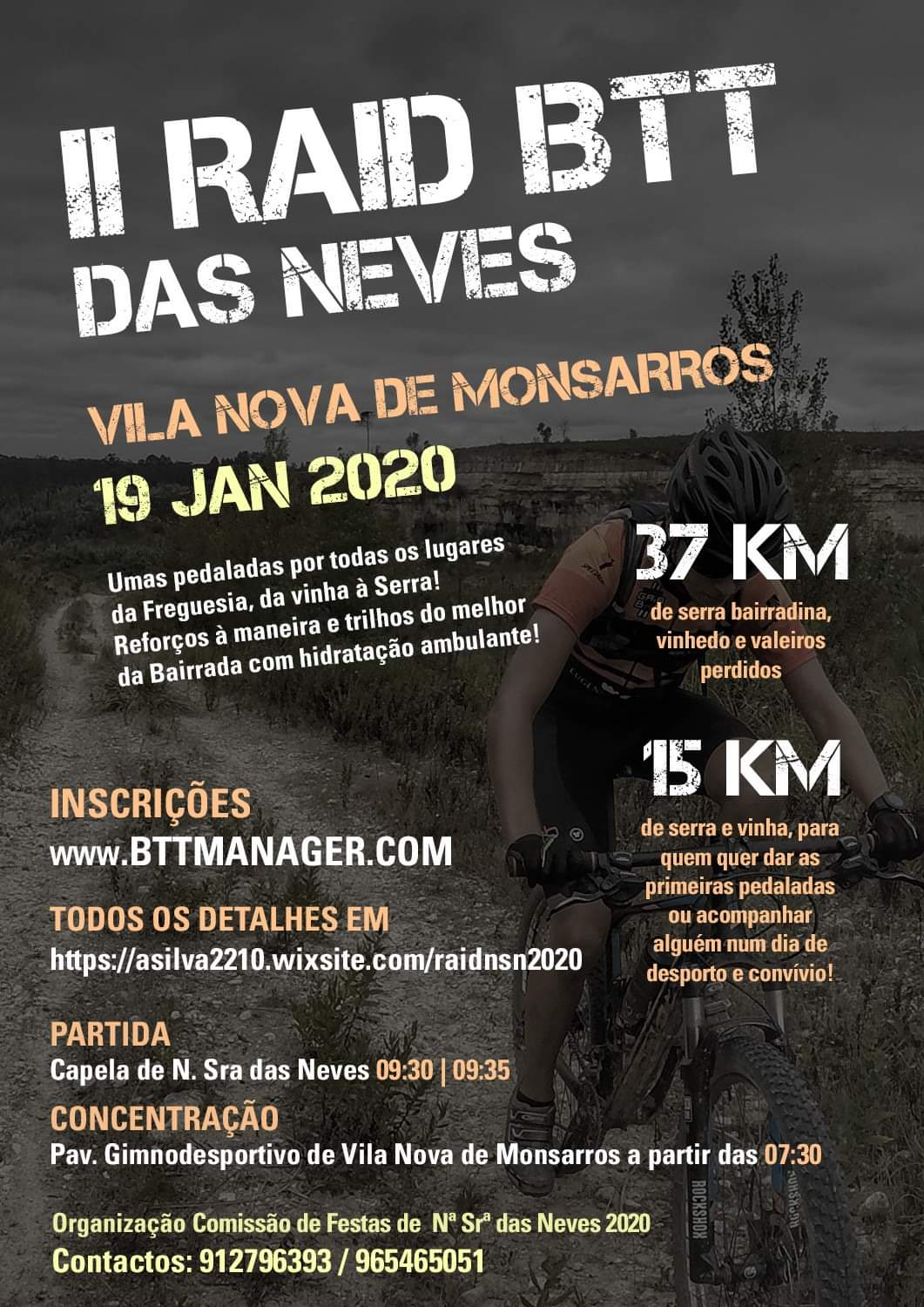 19JAN * VILA NOVA DE MONSARROS - ANADIA