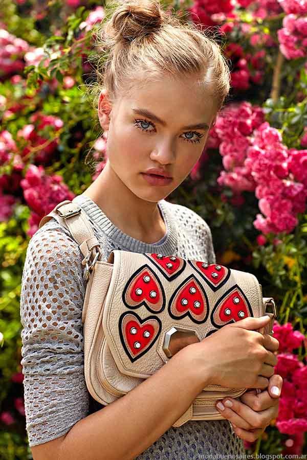 Jazmín Chebar primavera verano 2015 moda argentina. Moda primavera verano 2015.