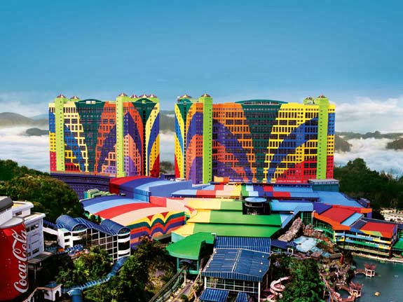ugliest buildings - Legoland in Malasya - you are not an architect