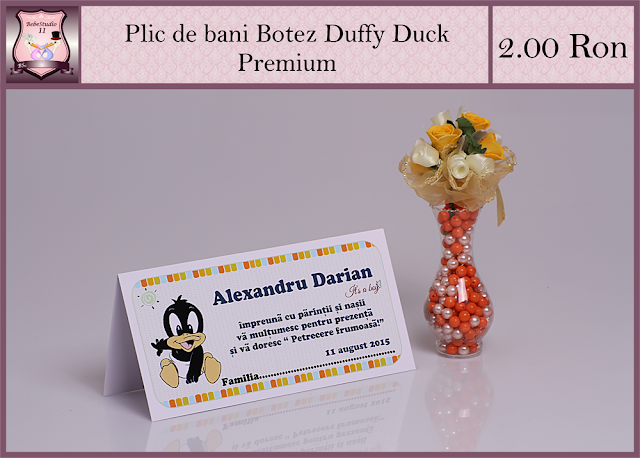 set marturii botez duffy duck