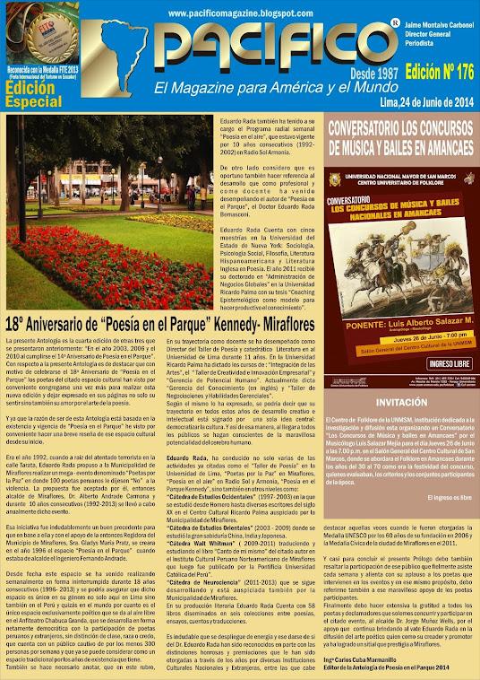 Revista Pacífico Nº 176 Edición Especial