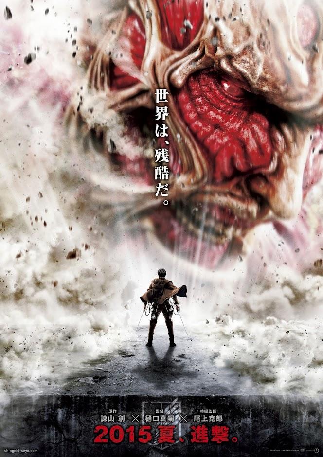 Poster de Ataque dos Titãs (Shingeki no Kyojin)