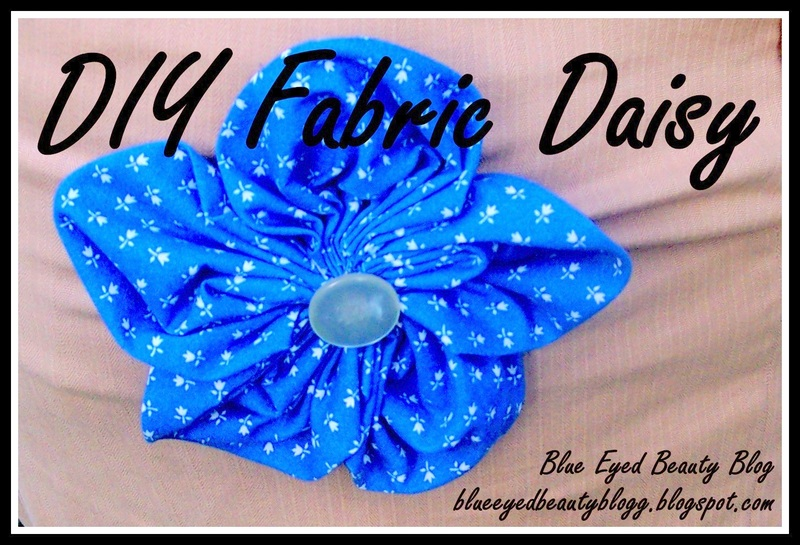 how to make a five petal flower out of fabric