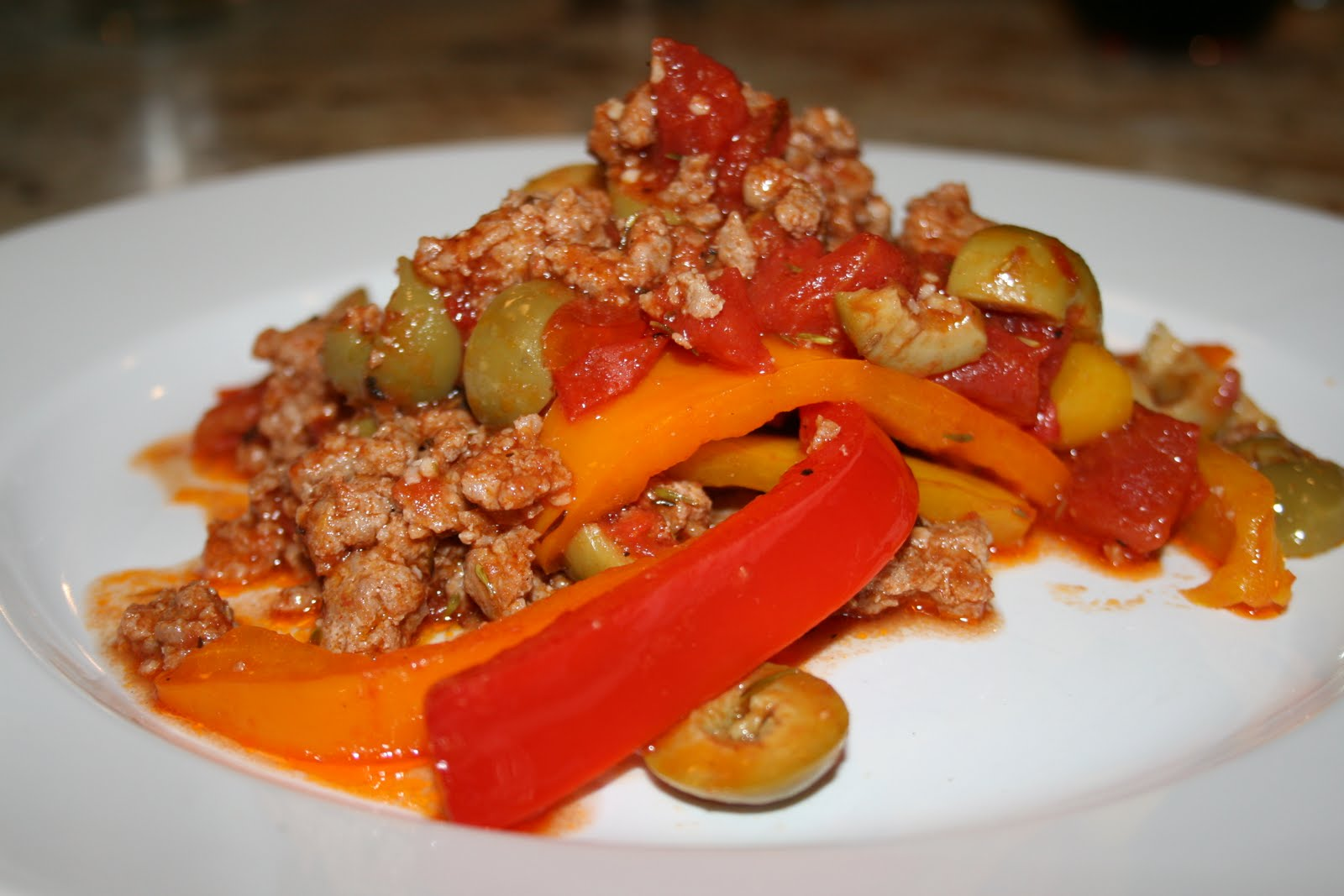 Italian sausage with peppers for Antonios italian cuisine