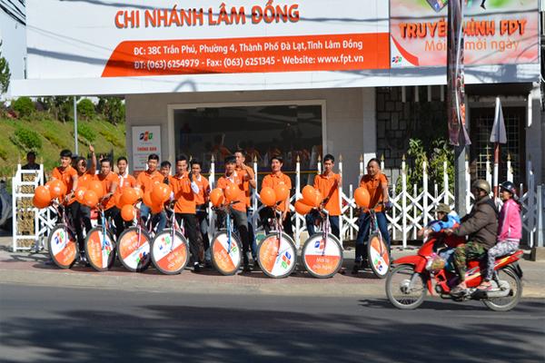 Quảng Bá Truyền Hình FPT Tại Lễ Hội Festival Hoa Đà Lạt