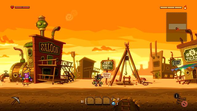Impresiones con Steamworld Dig para Xbox One.Jugabilidad de vieja escuela en consolas de última generación
