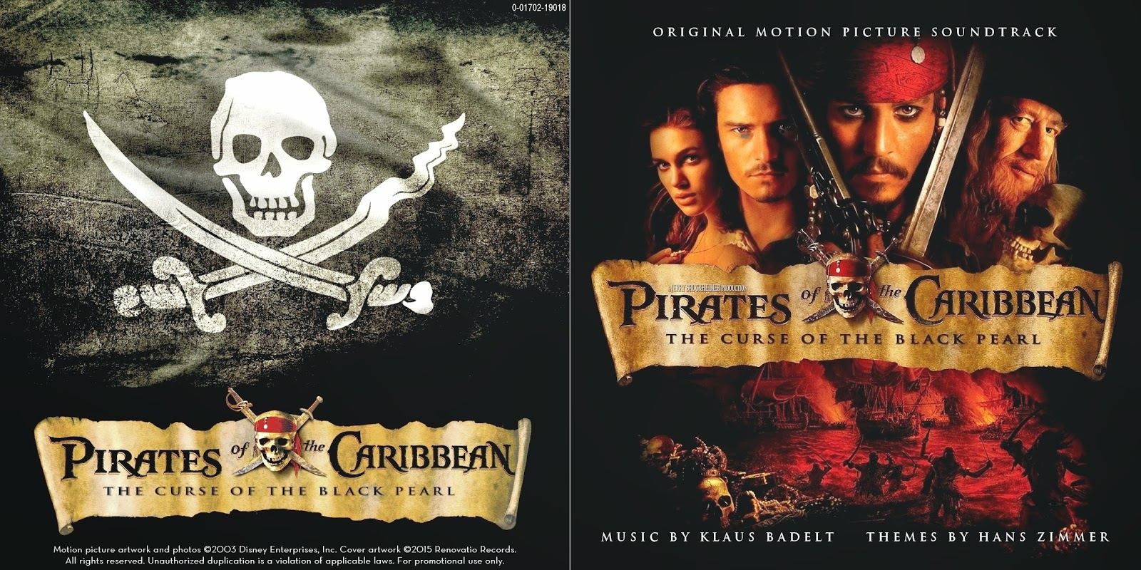 renovatio records pirates of the caribbean the curse of