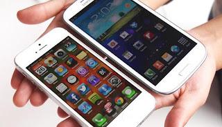 Galaxy S4 Vs iPhone