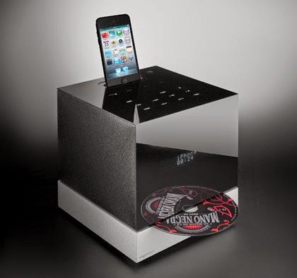 Радиоприемник Tangent Fjord стильная микросистема с щелевым загрузчиком CD и док-станцией для iPod/iPhone