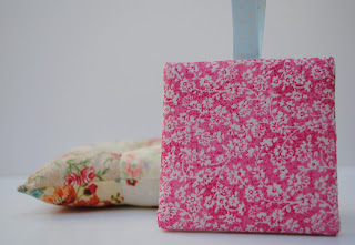 Floral Cross Stitch Finish, Flat Pin Keep Ornament Back