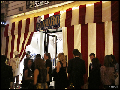 Circus SAndro Vogue Fashion Night Out Rue Saint-Honoré Paris 2012