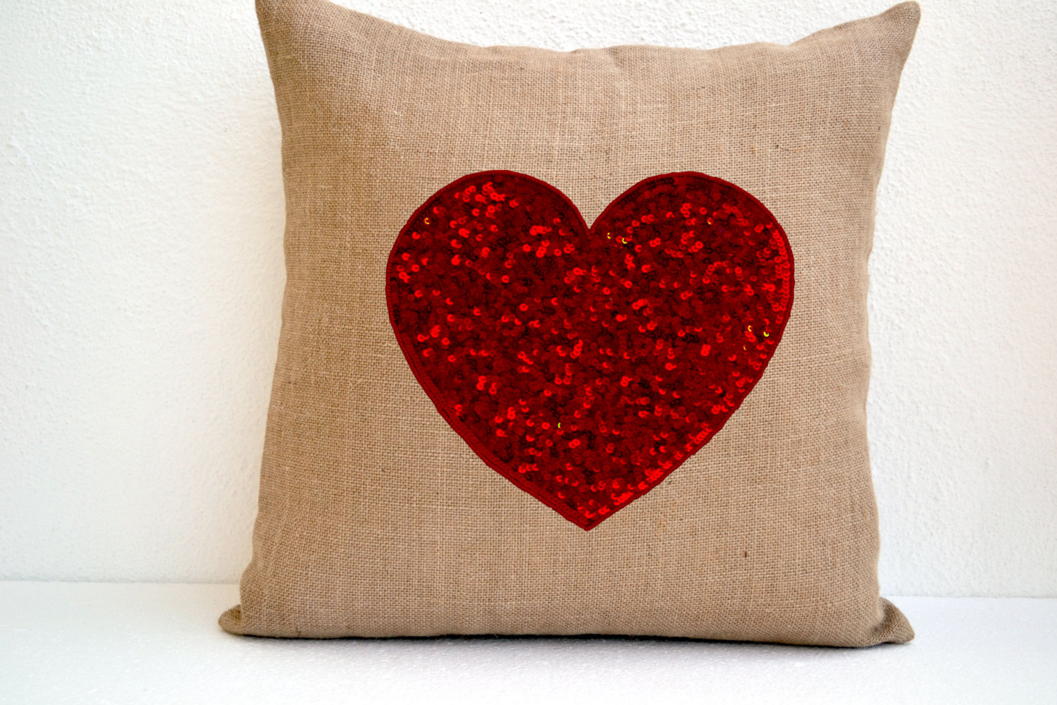 Red Heart Decorative Pillow : The Hip Subscription: Red Heart Pillow