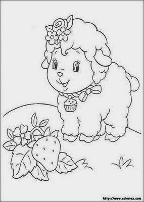desenhos para colorir e imprimir desenhos da moranguinho para colorir