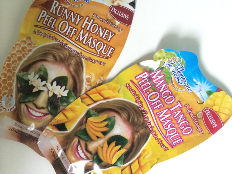 Montagne Jeunesse Peel off Face Mask Mango Tango Runny Honey