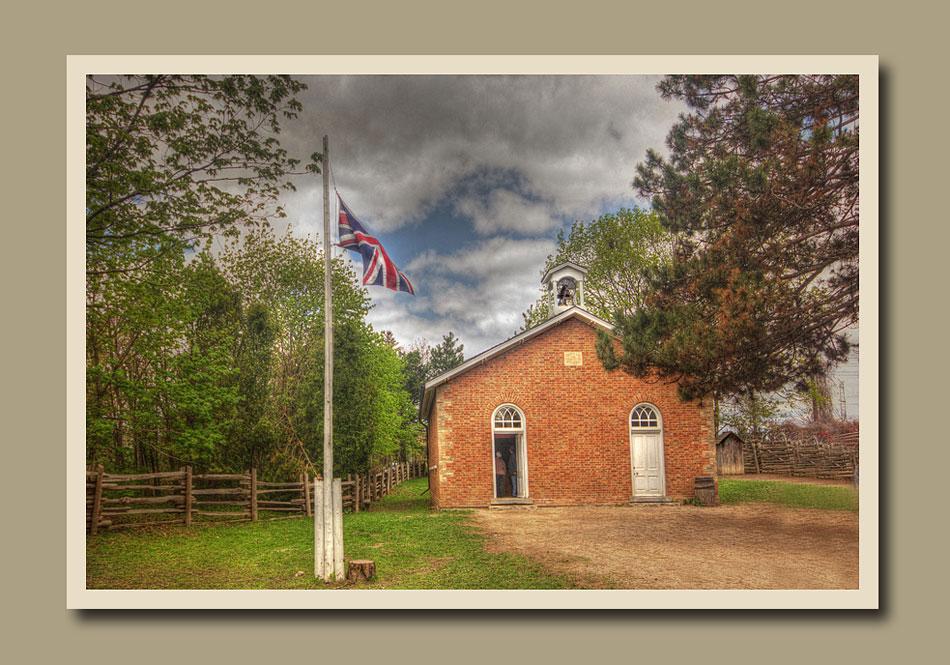 School house at Black Creek Pioneer Village