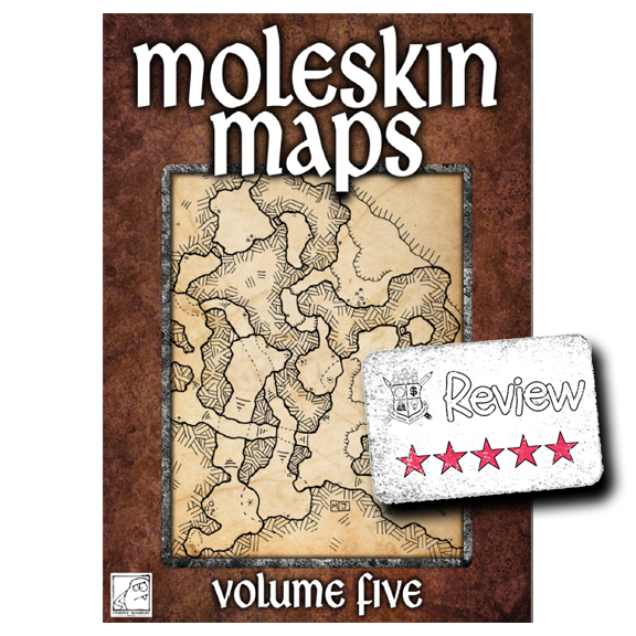Frugal GM Review: Moleskin Maps Volume Five
