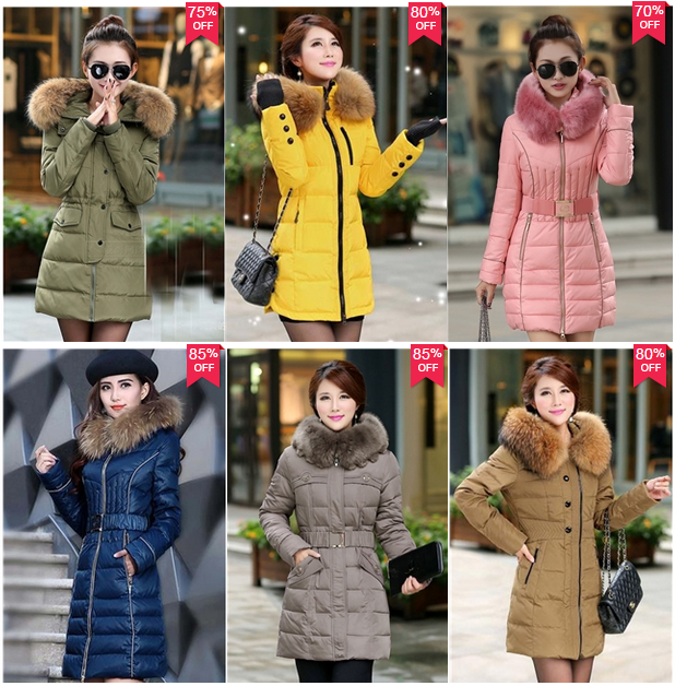Cheap down coats