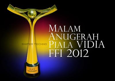 Daftar Pemenang Piala Vidia FFI 2012