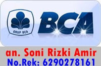 nomer rekening bca hafzah herbal